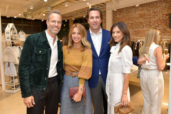 The Hollywood Reporter Power Of Style 2019 With Brunello Cucinelli [the hollywood reporter,event,fashion,tourism,suit,team,jeans,brunello cucinelli,matthew belloni,andrew weitz,andrea lublin,norah weinstein,hollywood reporter power of style,l-r,the hollywood reporter power of style,california]