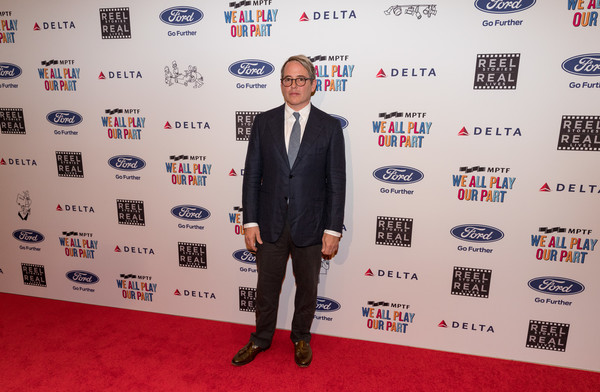 6th Annual Reel Stories, Real Lives Benefiting MPTF - Arrivals [reel stories,real lives,red carpet,carpet,event,flooring,premiere,suit,tuxedo,arrivals,matthew broderick,california,los angeles,real lives benefiting mptf,mptf,event,6th annual reel stories]