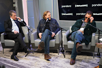 Matthew McConaughey Hugh Grant Andy Cohen Sits Down With The Cast Of 'The Gentlemen' On His SiriusXM Channel Radio Andy