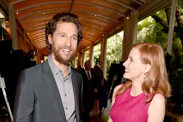 Matthew McConaughey Jessica Chastain 15th Annual AFI Awards Cocktail Reception