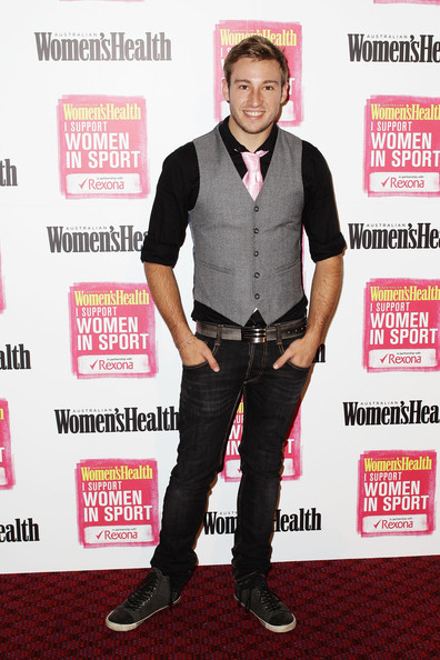 Matthew Mitcham - Australian Athletes Attend Support Women In Sport Launch