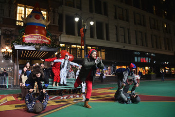 Matthew Morrison 89th Annual Macy's Thanksgiving Day Parade Rehearsals - Day 1