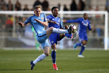 Matthew Smith Manchester City v Chelsea - FA Youth Cup Final: First Leg