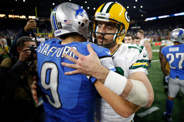 Matthew Stafford Green Bay Packers v Detroit Lions