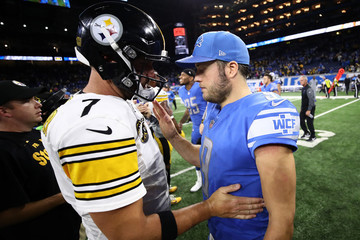 Matthew Stafford Pittsburgh Steelers v Detroit Lions