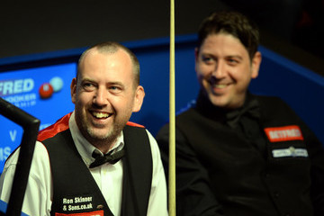 Matthew Stevens 2015 Betfred World Snooker Championship - Day 5