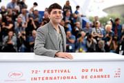 """Director Xavier Dolan attends the photocall for """"Matthias et Maxime (Matthias and Maxime)""""during the 72nd annual Cannes Film Festival on May 23, 2019 in Cannes, France."""