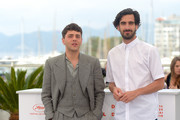 """Director Xavier Dolan and Gabriel D'Almeida Freitas attend the photocall for """"Matthias et Maxime (Matthias and Maxime)""""during the 72nd annual Cannes Film Festival on May 23, 2019 in Cannes, France."""