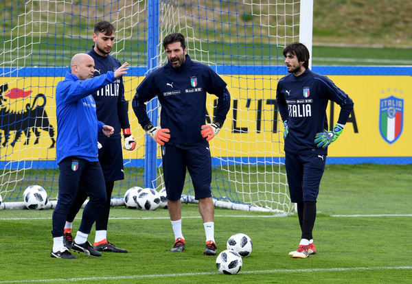 Italy Training And Press Conference