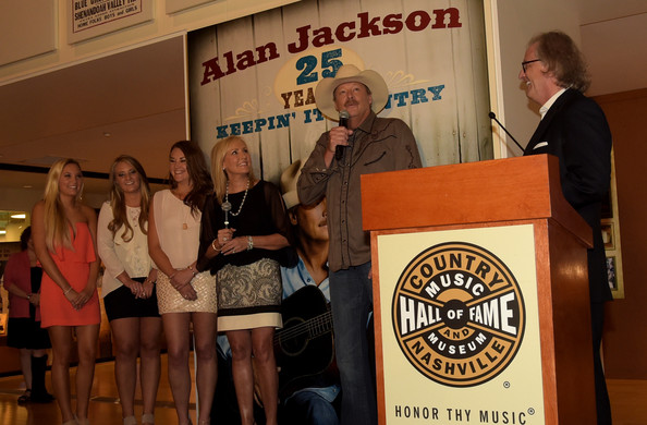 Alan Jackson Exhibit Opening Reception At Country Music Hall Of Fame And Museum