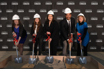 Maureen Donnelly SAG Foundation Breaks Ground On Actors Center Signature Space At 247 West 54th Street In New York