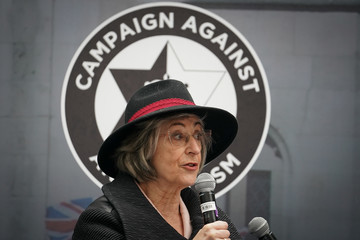 Maureen Lipman Anti-Semitism Campaigners Demonstrate Outside Labour Party HQ
