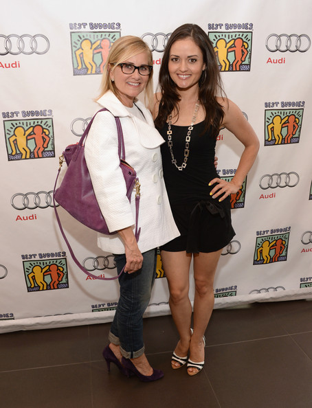 Celebs at the Best Buddies Poker Event [fashion,event,fashion design,premiere,footwear,dress,style,maureen mccormick,danica mckellar,best buddies poker event,audi beverly hills,california]