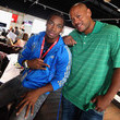 Maurice Green adidas Olympic Media Lounge At Westfield