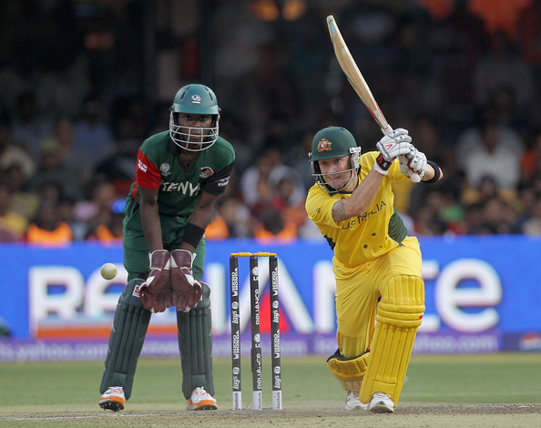 Australia v Kenya: Group A - 2011 ICC World Cup
