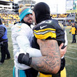 Maurkice Pouncey Wild Card Round - Miami Dolphins v Pittsburgh Steelers