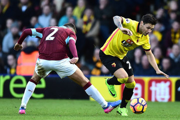 Mauro Zarate Watford v Burnley - Premier League