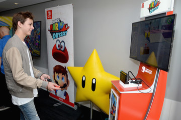 Max Charles Nintendo At The TV Insider Lounge At Comic-Con International 2017
