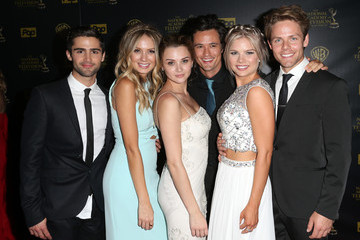 Max Ehrich Kelli Goss The 42nd Annual Daytime Emmy Awards - Press Room