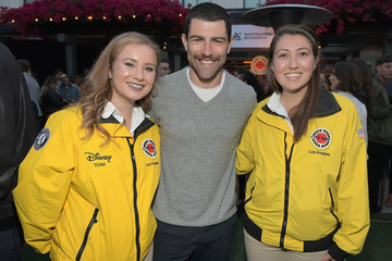 Max Greenfield City Year Los Angeles Spring Break
