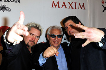 Guy Fieri The Maxim Party Powered by Motorola Xoom - Red Carpet