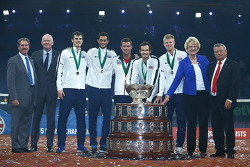 Maxime Jadot Belgium v Great Britain: Davis Cup Final 2015 - Day Three
