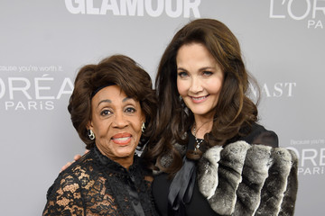 Maxine Waters Glamour Celebrates 2017 Women Of The Year Awards - Backstage