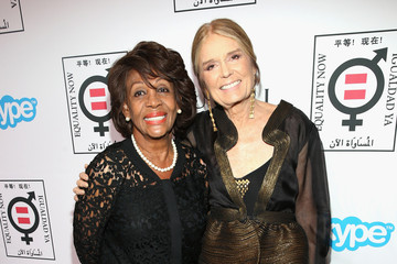 "Maxine Waters Gloria Steinem The Equality Now's ""Make Equality Reality"" Event - Red Carpet"