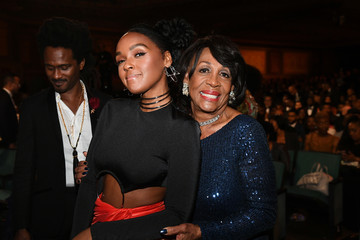 Maxine Waters Janelle Monae BET Presents The 51st NAACP Image Awards - Show