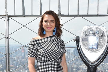 Maya Rudolph Empire State Building Lighting With Cast of 'The Emoji Movie', Girls Who Code and Oath for Good for World Emoji Day