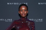 Flaviana Matata attends the Maybelline New York Fashion Week party on September 07, 2019 in New York City.