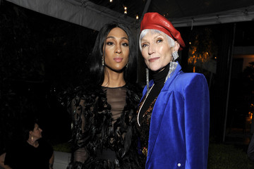 Maye Musk GQ's Men Of The Year Party In Partnership With FIJI Water