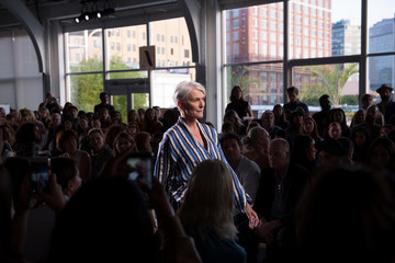 Maye Musk Zero + Maria Cornejo - Front Row - September 2017 - New York Fashion Week