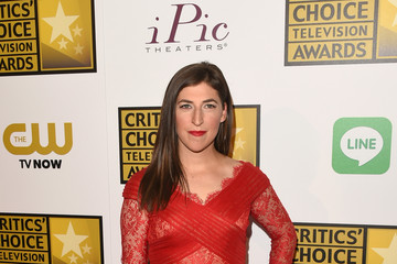 Mayim Bialik Arrivals at the Critics' Choice Television Awards