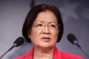 Mazie Hirono Democratic Senators Discuss Concerns With AG-Nominee Jeff Sessions