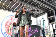 Keri Hilson performs onstage during the McDonald's All American Games Fan Fest at Centennial Olympic Park on March 24, 2019 in Atlanta, Georgia.