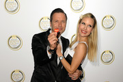 (L-R) Tamara Sedmak and Norbert Dobeleit attend the charity gala in favor of 'McDonald's Kinderhilfe Stiftung' at Postpalast on November 8, 2013 in Munich, Germany.