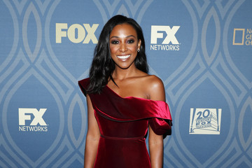Meagan Holder FOX Broadcasting Company, FX, National Geographic, and Twentieth Century Fox Television's 68th Primetime Emmy Awards After Party - Arrivals
