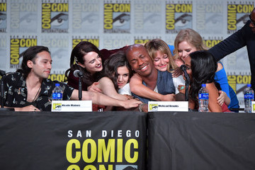 Mechad Brooks 2019 Comic-Con International - 'Supergirl' Special Video Presentation And Q&A