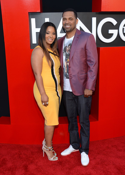'The Hangover Part III' Premieres in LA — Part 3 [hangover part 3,red carpet,carpet,suit,event,premiere,flooring,formal wear,mechelle mccain,mike epps,arrivals,r,california,warner bros. pictures,westwood,premiere,premiere]