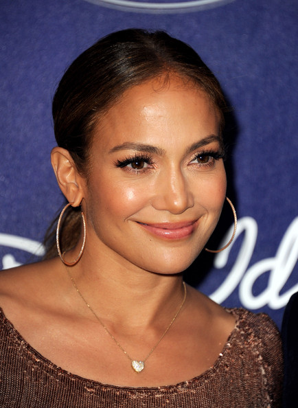 Singer Jennifer Lopez arrives at Fox's American Idol finalist party at The Grove on March 1, 2012 in Los Angeles, California.