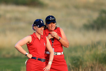 Meg Mallon The Solheim Cup - Day Two