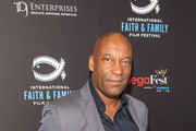 John Singleton poses before the MegaFest Leading Men In Hollywood Panel at the Omni Hotel on June 29, 2017 in Dallas, Texas.