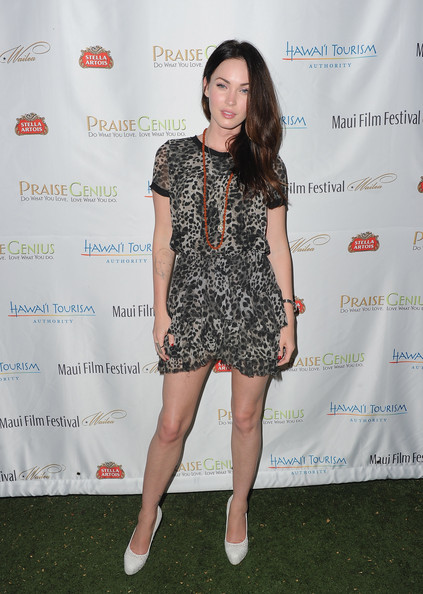 Megan Fox Actress Megan Fox arrives at the 2011 Maui Film Festival at the Celestial Cinema on June 15, 2011 in Wailea, Hawaii.
