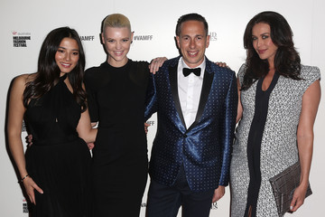 Megan Gale Arrivals at the David Jones Show