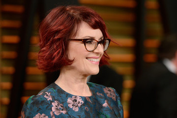 Megan Mullally Stars at the Vanity Fair Oscar Party