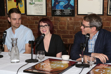 Megan Mullally 'It's Only a Play' Photo Call in NYC