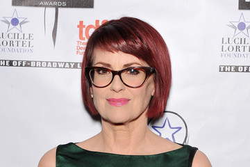 Megan Mullally 29th Annual Lucille Lortel Awards - Arrivals