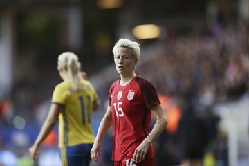 Megan Rapinoe USA Women v Sweden Women - International Friendly