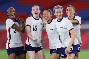 Megan Rapinoe Alex Morgan European Best Pictures Of The Day - July 30
